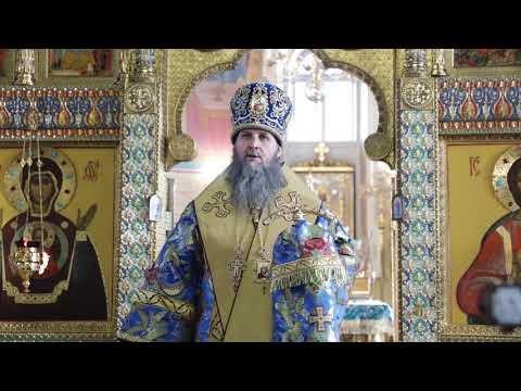 Митрополит Даниил совершил праздничную Литургию в день Сретения Господня