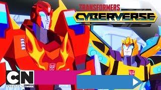 Трансформеры: Кибервселенная | Скорость падения | Cartoon Network