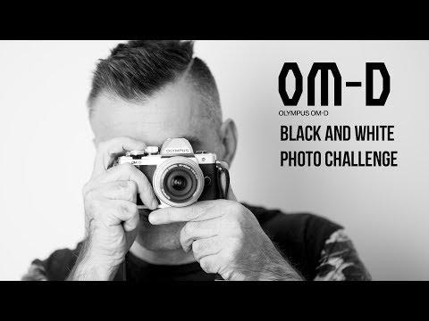 Olympus OMD EM 10 Mark II - Black and White Photo Shoot Challenge