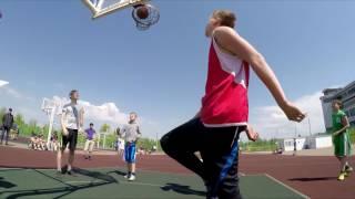 Первенство Уфы по баскетболу 3x3 среди школьников.