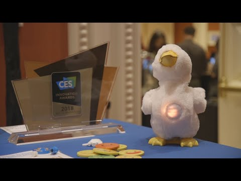 This robot duck eases children through cancer treatments