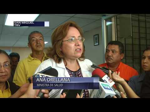 Ministra de Salud supervisa trabajaos de mantenimiento en hospital San Juan de Dios en San Miguel