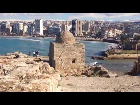 Древняя морская крепость в Сидоне (Сайда