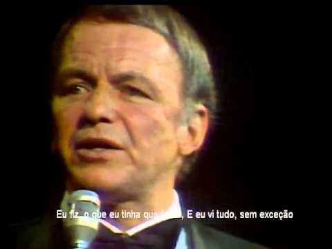 Frank Sinatra - My way  (legendado)