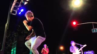 """Another Earthquake"" - Aaron Carter (live in Modesto, CA)"