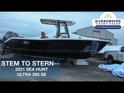 Sea Hunt Ultra 265 SE video