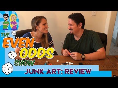 Even Odds Show - Junk Art Review