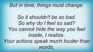 Alicia Keys - Why Do I Feel So Sad Lyrics