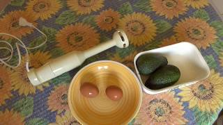 Stabmixer  BRAUN electronic , Hand blender, Making Avocado Salad