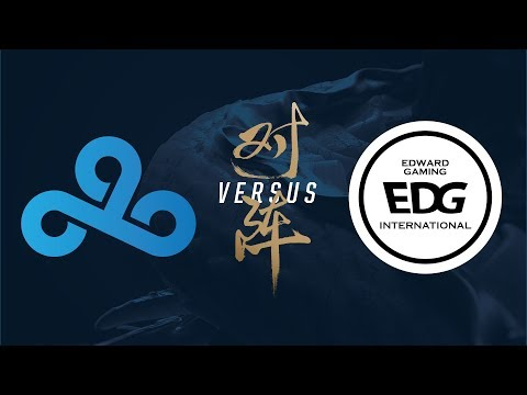 C9 vs. EDG   Group Stage Day 3   2017 World Championship   Cloud9 vs Edward Gaming