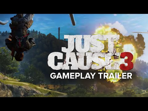Just Cause 3's Trailer Goes Live and it Looks Amazing