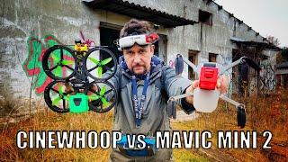 DJI MAVIC MINI 2 vs. CINEWHOOP   VLOG FPV feat. Mariano