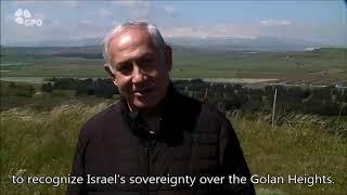 Video: Netanjahu slibuje pojmenovat nové město na Golanách po Trumpovi