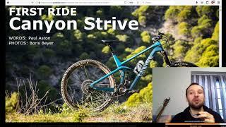 5. News. Canyon Strive - Война Эндуро Геометрий
