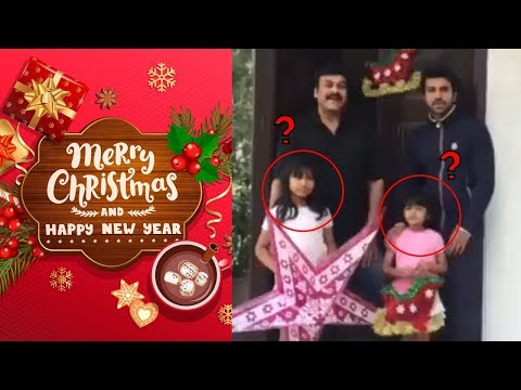 Chiranjeevi And Ram Charan Wishing For Christmas And New Year