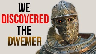 Skyrim Mods - Discovering Dwemer That Can TALK!