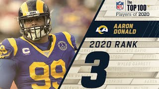 #3: Aaron Donald (DT, Rams) | Top 100 NFL Players of 2020