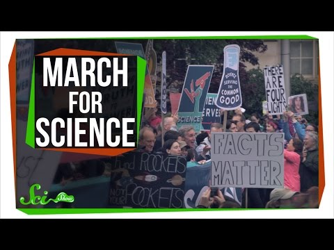 SciShow Marches for Science