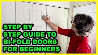 Installing BI-FOLD Doors For Absolute Beginners..