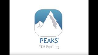 PEAKS PTM Profiling