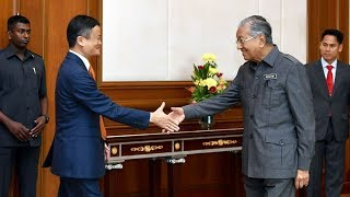 Dr Mahathir says had good exchange of ideas with Jack Ma