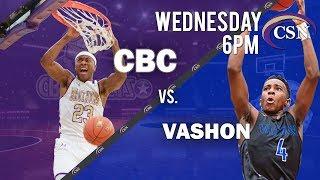 CBC Varsity Basketball vs Vashon