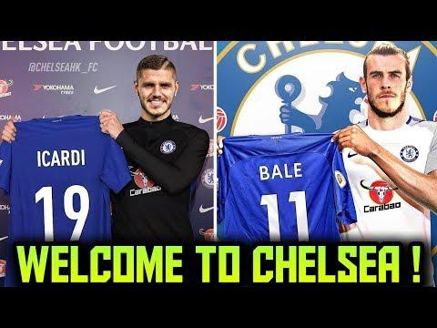 CHELSEA TRANSFER NEWS | TOP 10 Chelsea Transfer Targets 2018 ft Bale Icardi Lewandowski