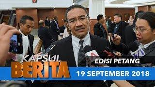 Dalam Kapsul berita petang ini ;  1. Anifah pula keluar UMNO  2. Ada lagi Ahli Parlimen UMNO dijangka tinggalkan parti -      Lokman 3. Hishammuddin sahkan jumpa Dr. Mahathir semalam 4. Sembilan ahli geng 24 dihukum penjara 16 bulan  #utusanonline #tvutusan #kapsulberita  Layari Utusan Online (http://www.utusan.com.my) untuk mendapatkan lebih banyak informasi menarik dan berita terkini.