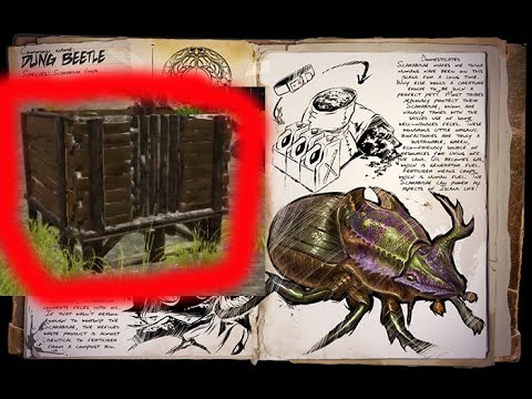 Tired Of Having Your Dung Beetle Escape Its Box Ark Survival