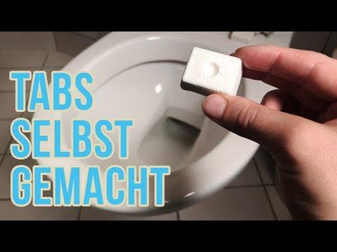 WC Reiniger Tabs selber machen   Toilette reinigen mit Hausmittel