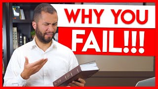 Why You WON'T Study Your Bible - Struggling to Read the Bible