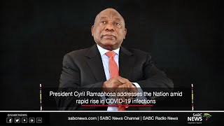President Cyril Ramaphosa Nation Address | 12 July 2020