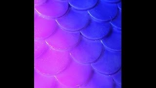 DIY: Silicone Mermaid Tail   Scales/Part 1