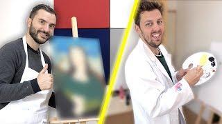 Qui peint le meilleur Tableau ? : Peinture challenge feat. Pierre Croce