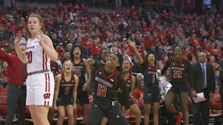 Rutgers Women's Basketball beats Wisconsin, 64-61