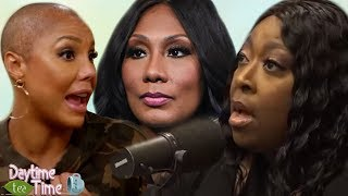 TAMAR BRAXTON  is MAD at her sister Towanda Braxton for speaking to Loni Love after she got FIRED!