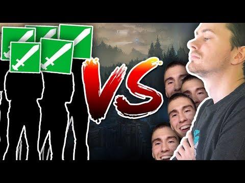 MOJE RODINA vs. MOJI MODERÁTOŘI - League of Legends