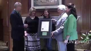 125th Anniversary Tartan Presentation (2014)