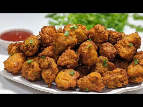 झटपट मिनटों मे बनाये सोयाबीन के ऐसे कुरकुरे और चटपटे पकोड़े और चाय के साथ खायें   Soyabean ke Pakore.