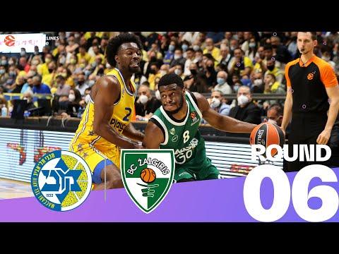 RS Round 6 Highlights: Maccabi 76-62 Zalgiris