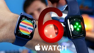 Apple Watch Series 6 Unboxing & Impressions vs Series 5