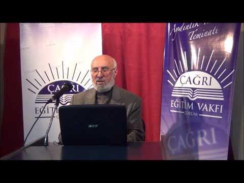02 Aralık 2014 - Sadık Ünal ile Riyazü's-Salihin Dersleri