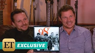 ET | Interview with 98 Degrees
