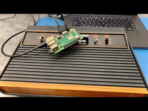 Raspberry Pi Hacking Atari 2600