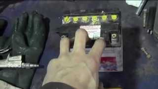 Saving a frozen battery