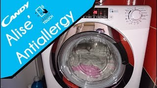 Candy Alise GVSW 586 TWHC - Antiallergy washer dryer
