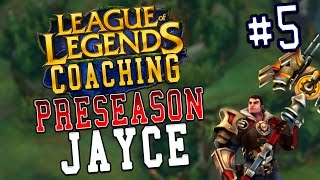 Season 7 LoL Coaching #5 - Jayce Top vs  Darius (S6 Silver