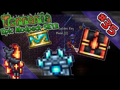 New Modded Dungeon Chests?! | Mabi Plays Terraria Epic Modpack SE13 - #35