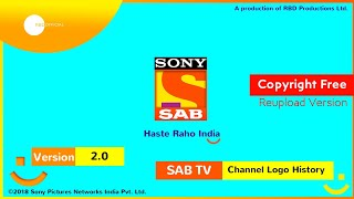 SONY SAB TV Channel Ident History (2000-Present) | Reupload Version | RBD Official 😊 #CopyrightFree