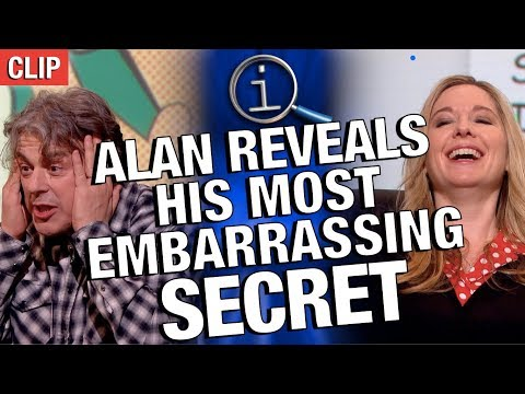 QI – Alan's Embarrasing Secret
